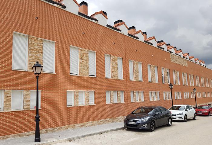 Construcción de viviendas en Toledo